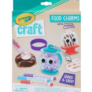 2/$15 Crayola Model Magic Food Charms